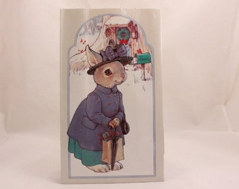 Four (4) Vintage 1990 Shackman The Hopper Gift Bags by Kathy Lawrence. 8487