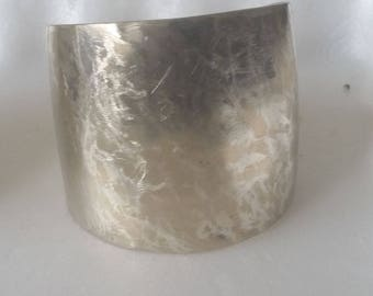 Nickel Silver brazen Cuff Bracelet