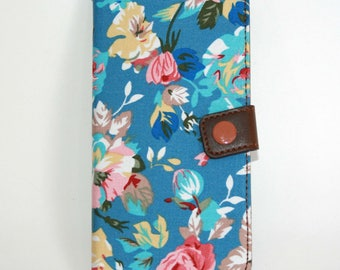 On sale!!! iphone6s plus case, iphone 6s plus case, 6s plus case, Blue iphone6s plus case, floral iphone plus case