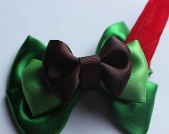 Peter Pan Inspired Boutique Bow