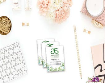 Arbonne - Business Card - Independent Consultant - Contact Card
