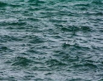 Ocean photography print - 'choppy'