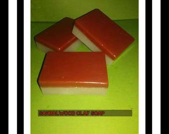 Sandalwood Clay soap