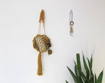 Macrame purse / Woven pouch / macrame handbag