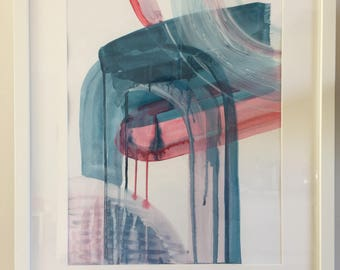 Original painting, modern abstract painting for a modern interior.