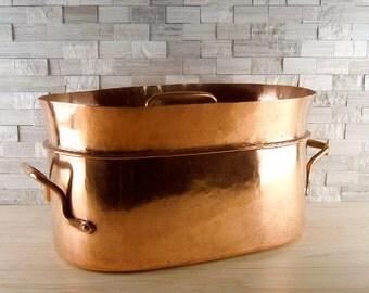 Antique French Copper Daubiere