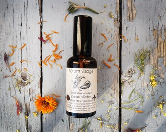 Facial Serum, nourishing, moisturizing and protective oil, dry skin Miss Marmite