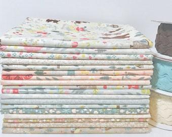 SALE!! 1 Yard Bundle Goldilocks by Jill Howarth for Riley Blake Design- 18 Fabrics