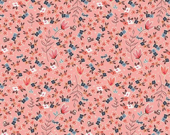 1 Yard Charleston by Amy Sinibaldi for Art Gallery Fabrics - Garden of Dreams Rose 51705