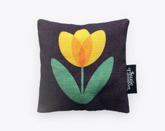 Tulip Lavender Bag in Yellow