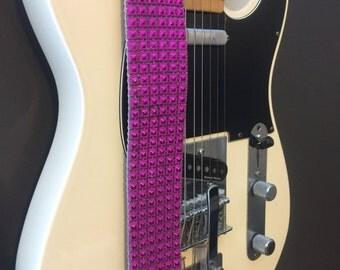 Pink Guitar Strap