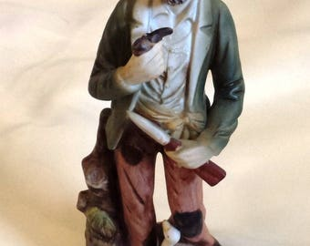 Old Man Figurine from Homco