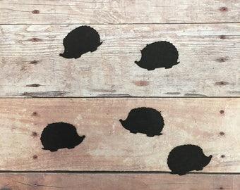 Hedge Hog Confetti & Vinyl Stickers