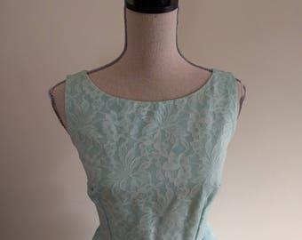 Vintage Pale Blue Gown/Dress.