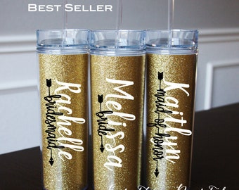 9 - Personalized Tumbler, Bridesmaid Gift,Office Gift,Christmas Gift,Christmas, Personalized Gift, Personalized Water Bottle,Birthday Gift