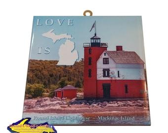 Love is Michigan ~ Round Island -2551  (Mackinac Island)