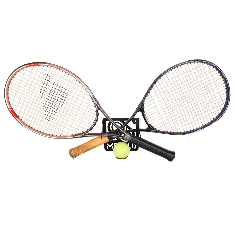 Tennis Racket Storage Rack Wall Mount 100 Steel