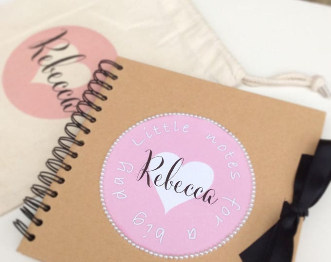 Personalised Scrapbook | Any text | Brides note book | Weddings | Birthday scrapbook | Custom books | Guest book | Brides Journal.