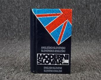 English To Slovene & Slovene To English Dictionary C. 1993