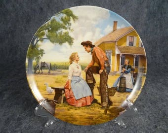 "Edwin Knowles Ceramic Collector Plate ""Oh,What A Beautiful Mornin"""