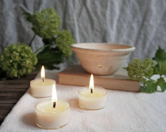 Six Greenhouse Scented Soy Wax Tealights