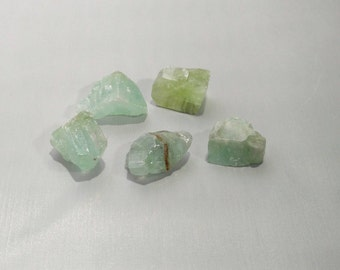 Green Calcite AAA Grade~Rough Green Calcite ~Healing Crystals ~Healing Gemstones ~Mental Healer ~Gemstones Chakra