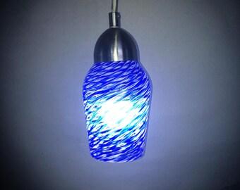 Handmade Blown Glass Pendant Light