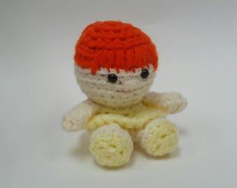 Ballerina Crochet Doll Mini Amigurumi Stuffed Toy