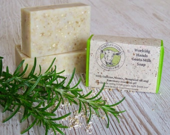 Working Hands Goats Milk Soap