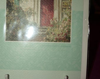 A New Home Card  with a Red Front Door
