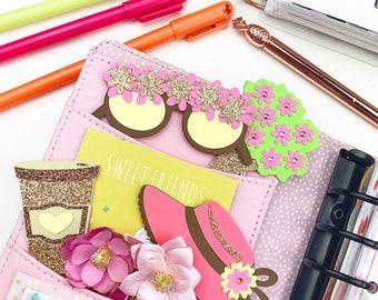 SUMMER BOHO Planner clips/ Bookmarks