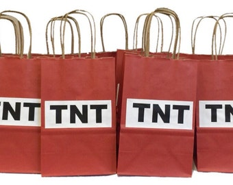 15PK TNT Goodie Bags with Handles