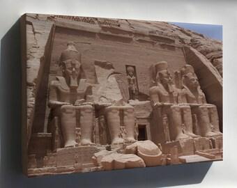Canvas 24x36; Temple Of Ramses Ii Abu Simbel Temples, Temple Of Ramses Ii