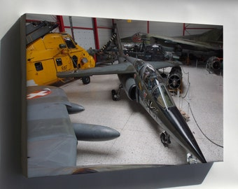 Canvas 24x36; Alpha Jet German Air Force 40+61 At Flugausstellung Hermeskeil, Pic5