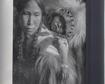 Canvas 16x24; Havasupai Girl Wearing Beads And Cape, Half Length, Seated, 1900 Nara 520078