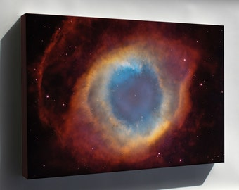 Canvas 16x24; Helix Nebula Hubble Space Telescope