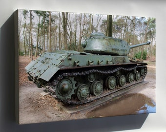 Canvas 16x24; Is 2 Iosif Stalin Tank Pic2