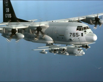16x24 Poster; Kc-130J Hercules Aircraft, (Vmgr) 352