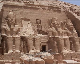 16x24 Poster; Temple Of Ramses Ii Abu Simbel Temples, Temple Of Ramses Ii