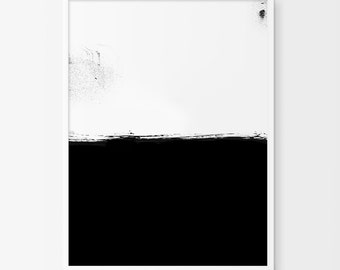 Modern Decor, Digital Prints, Printable Download, Abstract Art, Minimalist Print, Contemporary Art, Downloadable Prints, Brushstroke Print