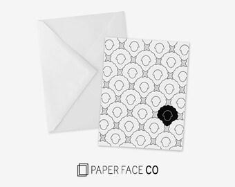 Black Sheep Card with Envelope
