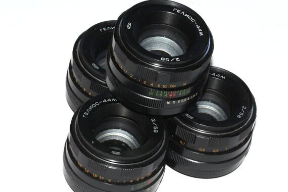 HELIOS 44M f/2 58mm M42 Soviet Lenses Zenit Praktica Pentax 4 pcs GOOD condition q147