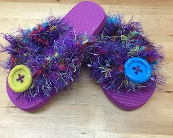 Girls flip flop sandals