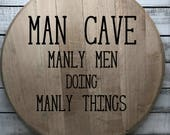 Bourbon Barrel Head/Home ...