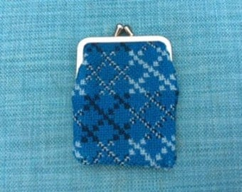 1970's vintage Welsh Tapestry Coin Purse