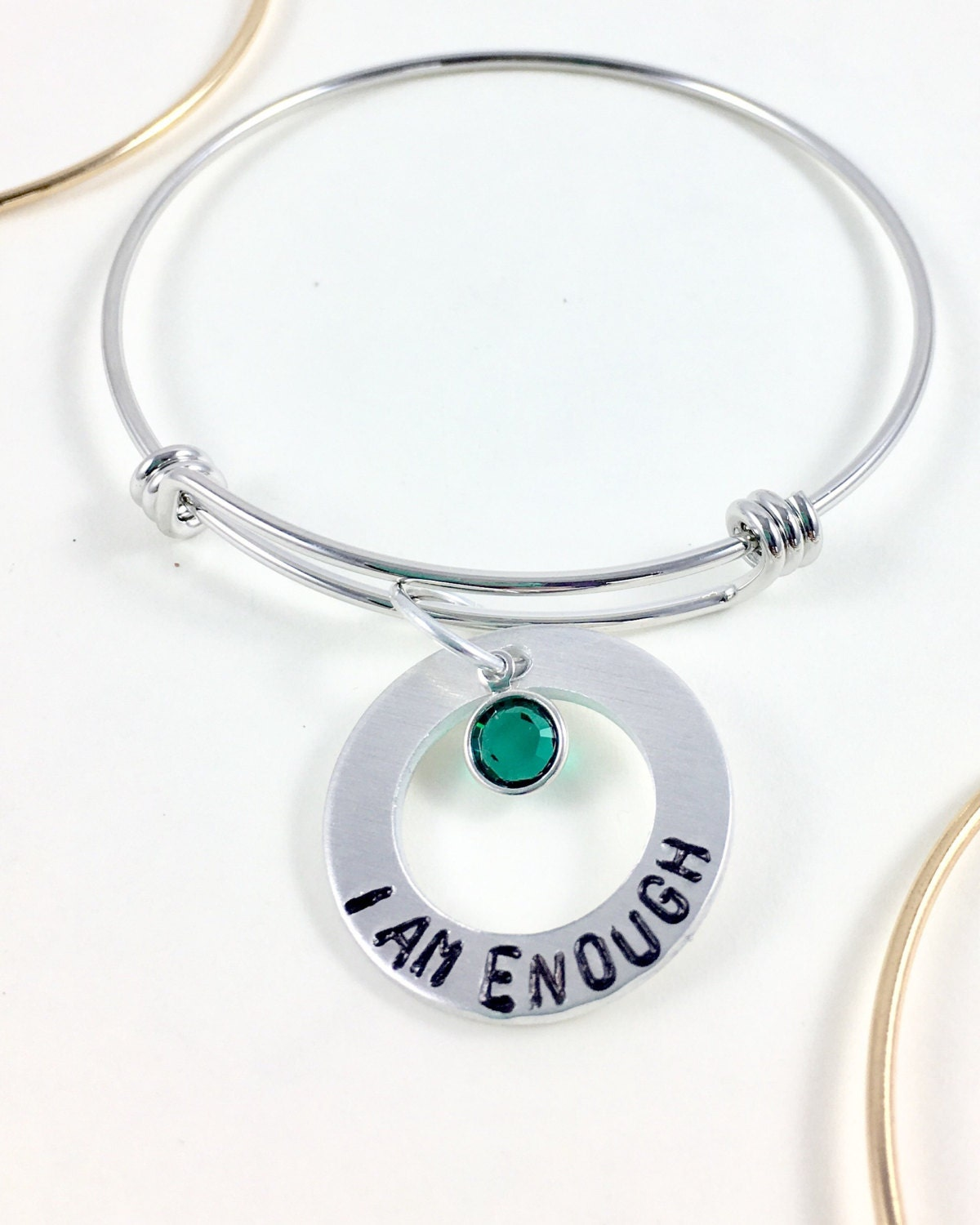 ribbon awareness bracelet mental health pin engraved awarenessdepot meheawenripi