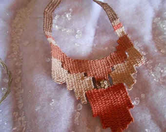 Custom Hand Woven Necklaces