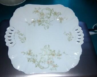 Leonard Vienna Austria Vintage Cake Plate