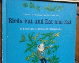 Birds Eat and Eat and Eat, 1963 book
