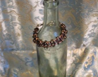 Bracelet Helm Weave Titanium, Aluminum.